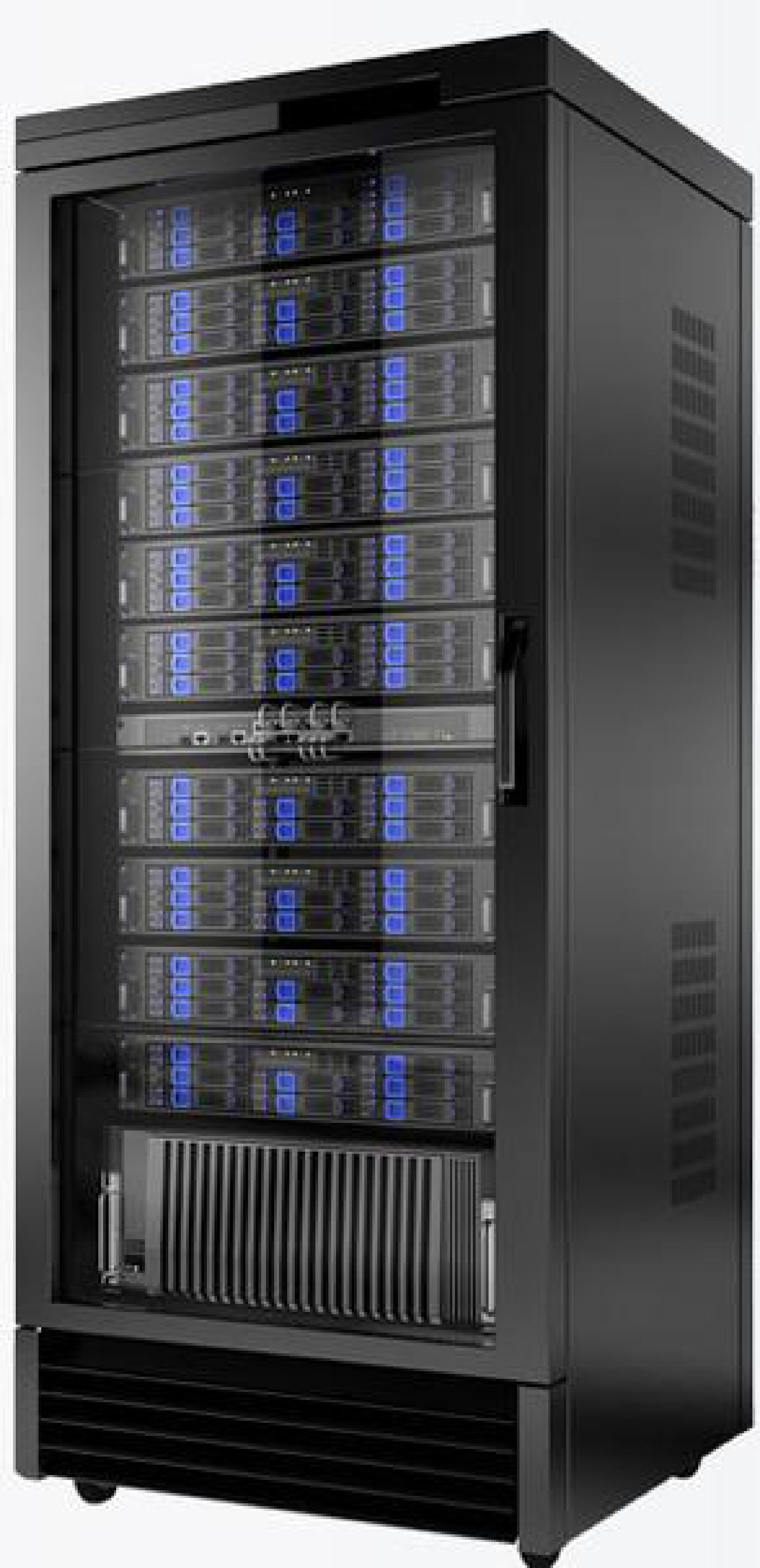 Worldwide Web Domains & Networks Server Rack